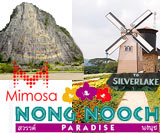 Silverlake Vineyard, Laser Buddha, Nong Nooch dan Mimosa Pattaya #Day 1
